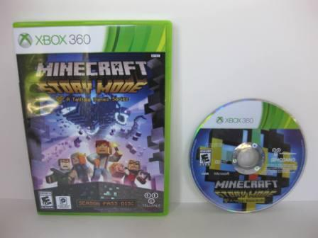 Minecraft: Story Mode - Xbox 360 Game